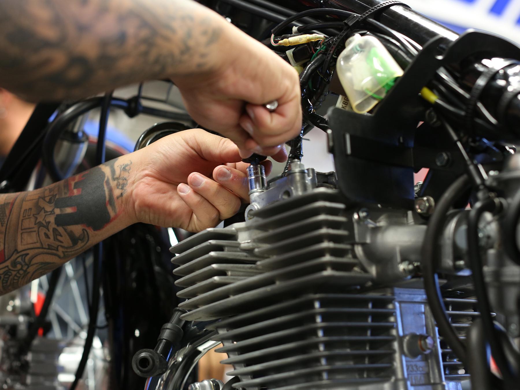 motorcycle mechanic training program mmi rh uti edu Mechanic Clip Art Mechanic Clip Art